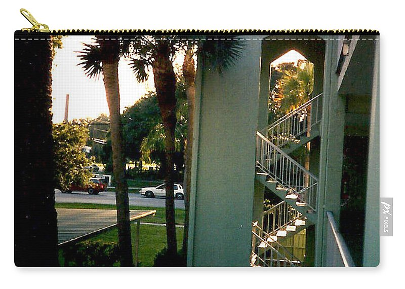 Florida Carry-all Pouch featuring the photograph Florida Trees 3 by Verana Stark