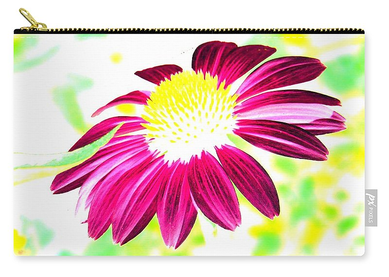 Flower - Photopower 265. Carry-all Pouch featuring the photograph Flower - Photopower 265 by Pamela Critchlow