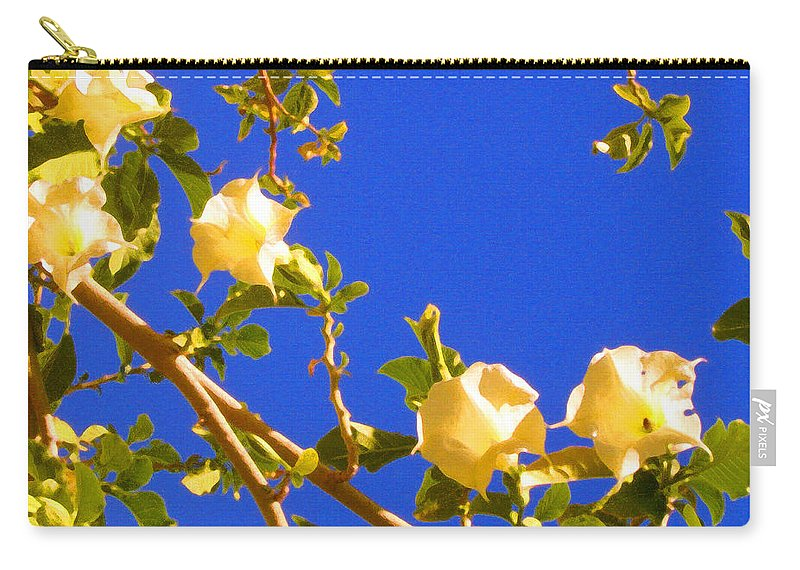 Landscapes Carry-all Pouch featuring the painting Flowering Tree 1 by Amy Vangsgard
