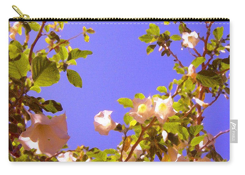 Landscapes Carry-all Pouch featuring the painting Flowering Tree 2 by Amy Vangsgard