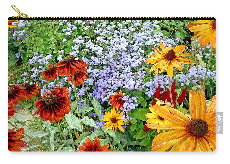 Duane Mccullough Carry-all Pouch featuring the photograph Flowers Galore 2 by Duane McCullough