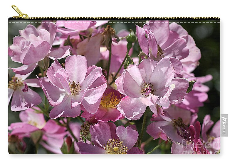 Rose Carry-all Pouch featuring the photograph Flowers- Mass Roses by Joy Watson
