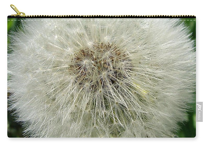 Fluffy Carry-all Pouch featuring the photograph Fluffy by Carol Lynch