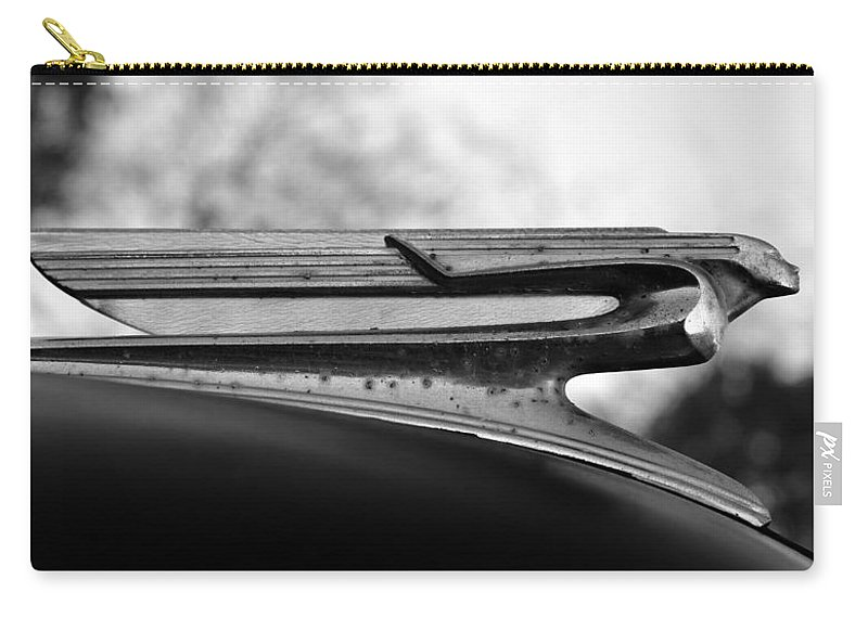 Cadillac Carry-all Pouch featuring the photograph Flying Cadillac by David Lee Thompson