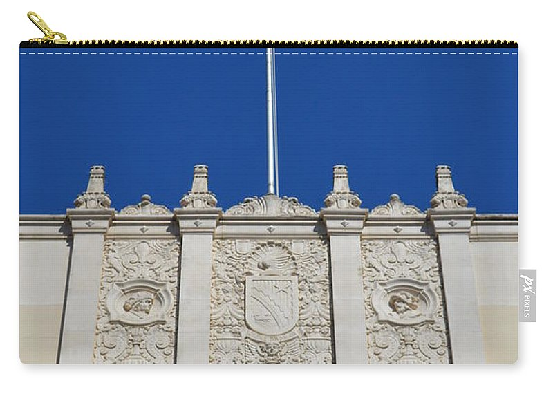 Architecture Carry-all Pouch featuring the photograph Flying High by Shawn Marlow