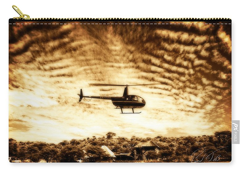 Robinson R44 Raven Ii Carry-all Pouch featuring the photograph Focus by Paul Job