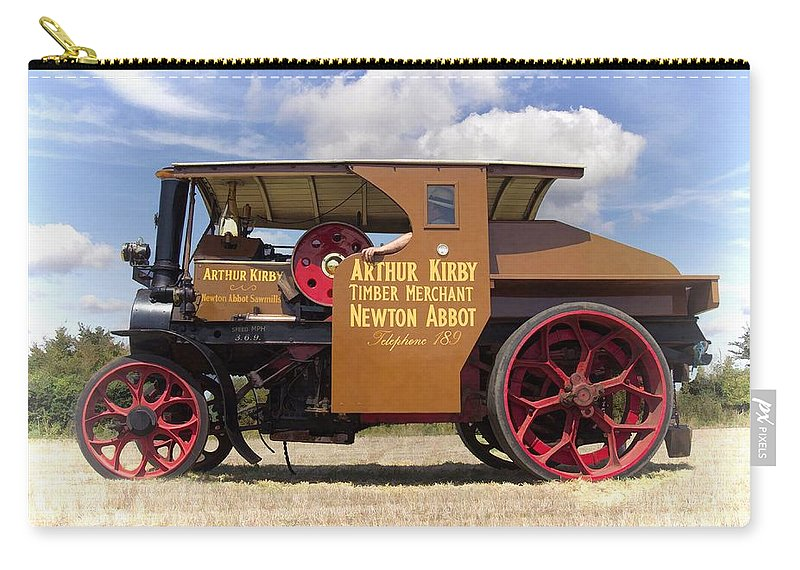 Steam Carry-all Pouch featuring the photograph Foden Tractor by Paul Gulliver
