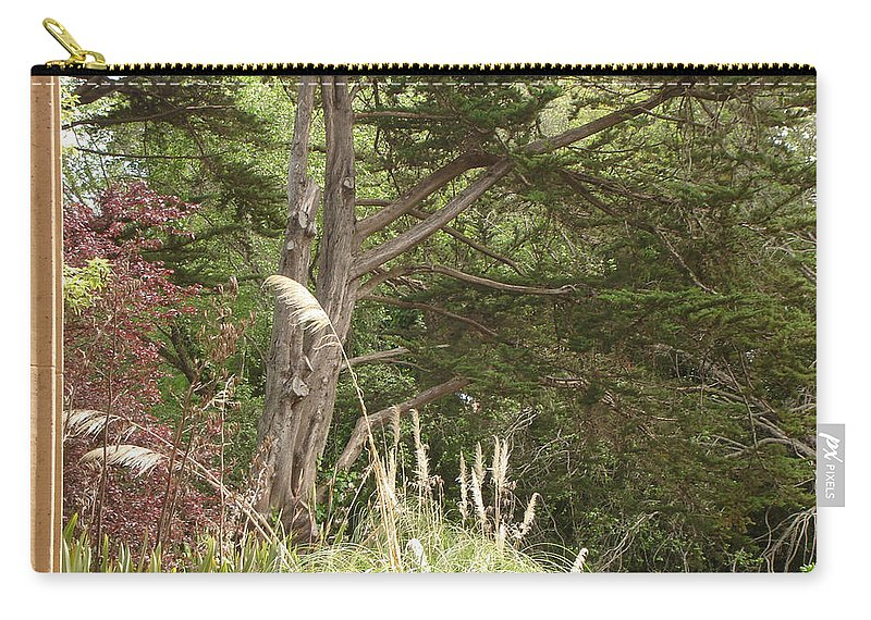 Foliage Carry-all Pouch featuring the photograph Foliage Art by Lovina Wright