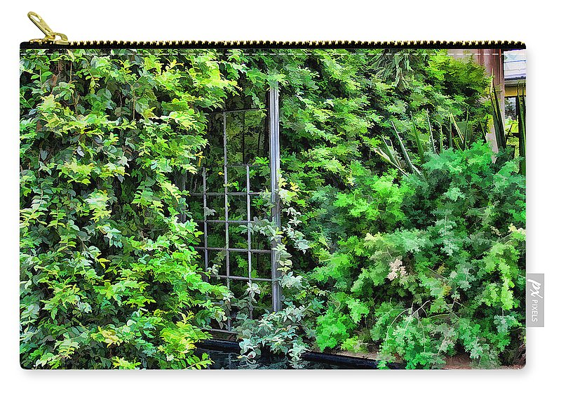 Scenic Carry-all Pouch featuring the photograph Foliage by Joyce Baldassarre