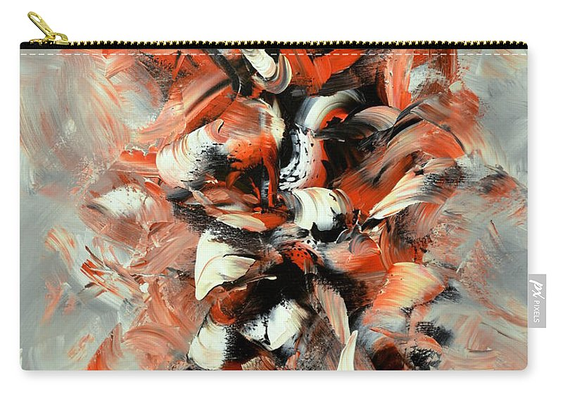 Abstract Carry-all Pouch featuring the painting Folies Bergeres by Isabelle Vobmann