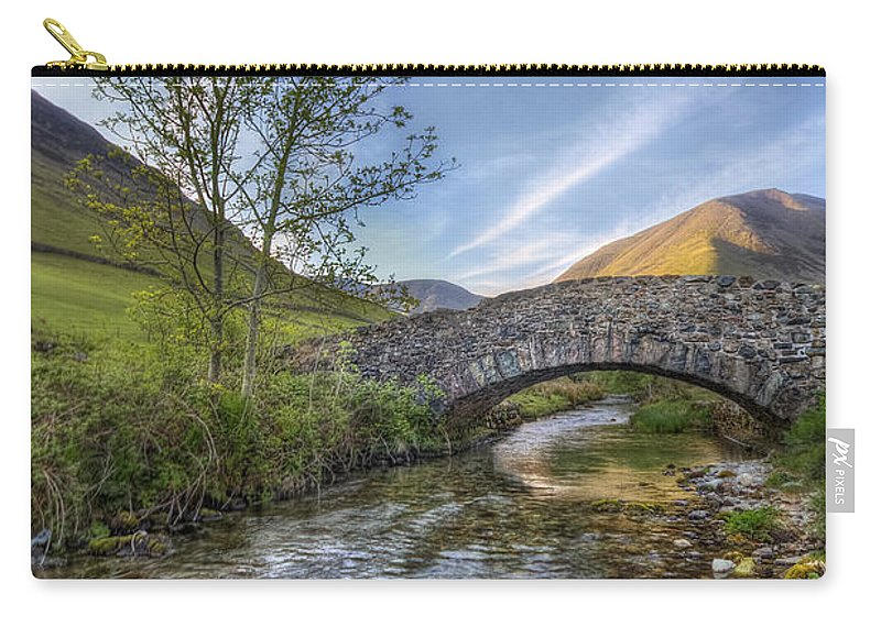 Landscape Carry-all Pouch featuring the photograph Follow Your Bliss by Evelina Kremsdorf