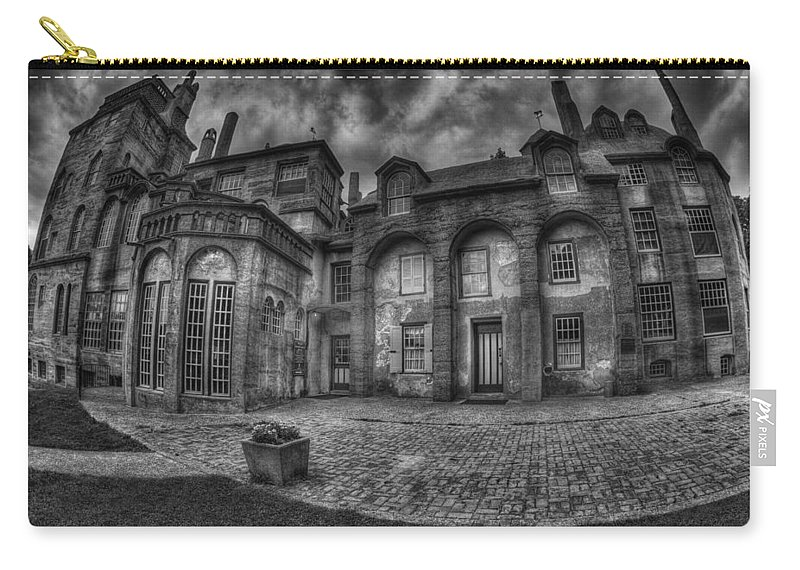 Byzantine Carry-all Pouch featuring the photograph Fonthill Castle by Susan Candelario
