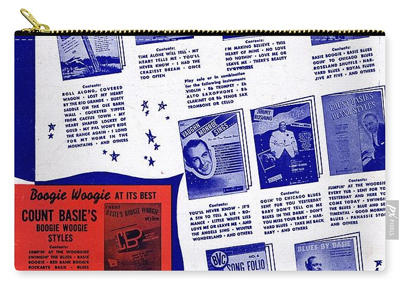 Nostalgia Carry-all Pouch featuring the photograph For Better Entertainment by Mel Thompson