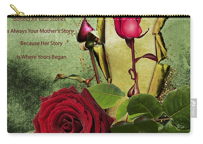 Rose Carry-all Pouch featuring the photograph For The Beauty Of Her by Georgiana Romanovna