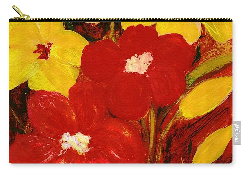 For You Carry-all Pouch featuring the painting For You by Anastasiya Malakhova
