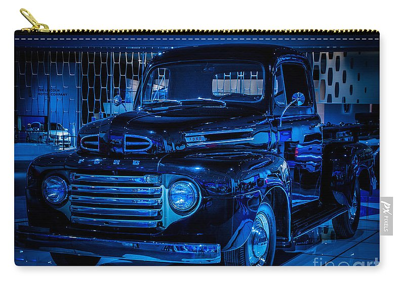 Truck Carry-all Pouch featuring the photograph Ford Pickup by Ronald Grogan