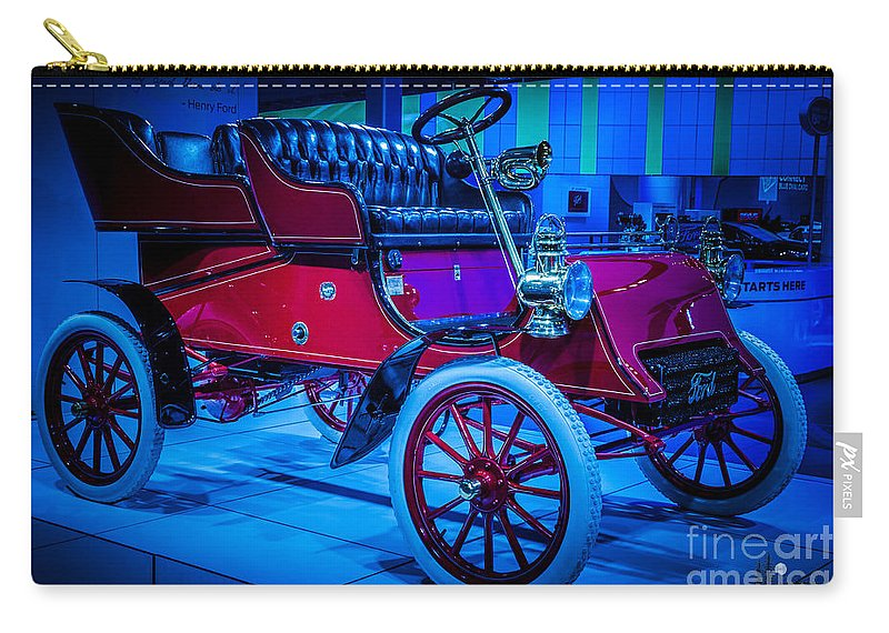 Ford Carry-all Pouch featuring the photograph Ford by Ronald Grogan