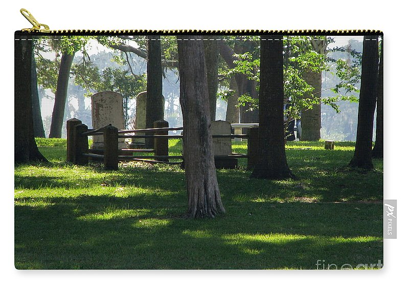 Patzer Carry-all Pouch featuring the photograph Fore Fathers by Greg Patzer