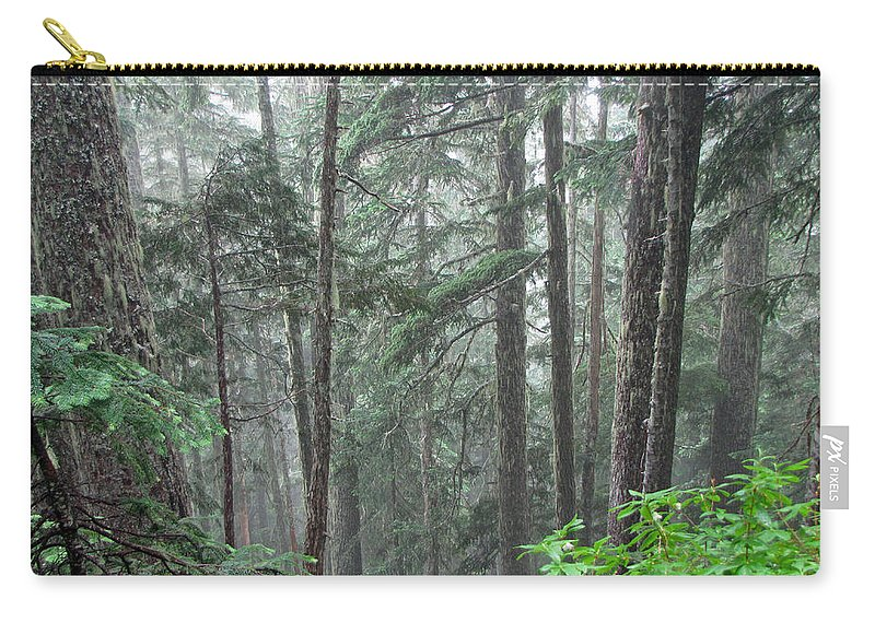 Trees Carry-all Pouch featuring the photograph Forest Bluff by Tikvah's Hope