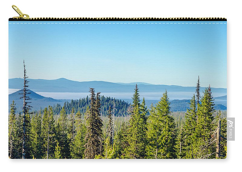 Forest Carry-all Pouch featuring the photograph Forest Landscape by Jess Kraft