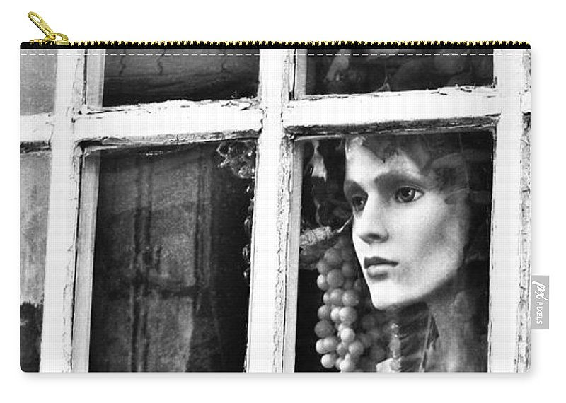 Forlorn Carry-all Pouch featuring the photograph Forlorn by Jean Goodwin Brooks