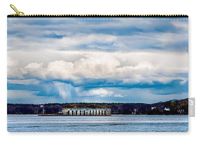 Mountains Carry-all Pouch featuring the photograph Fort Gorges by Greg Fortier
