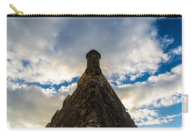 Puerto Rico Carry-all Pouch featuring the photograph Fortress by Kristopher Schoenleber