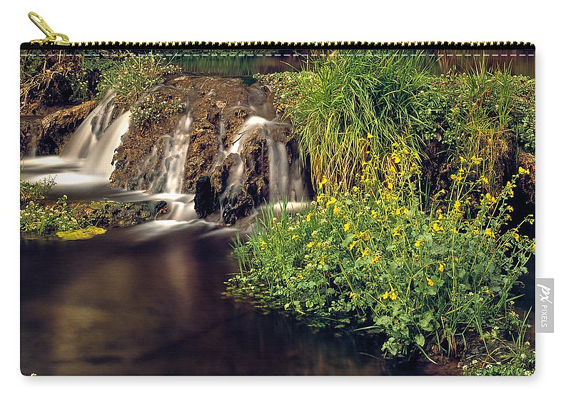 Arizona Carry-all Pouch featuring the photograph Fossil Creek by Leland D Howard