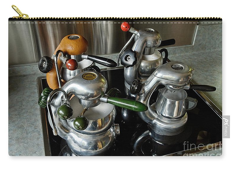 Atomic Carry-all Pouch featuring the photograph Four Ages Of Atomic by Frank Kletschkus