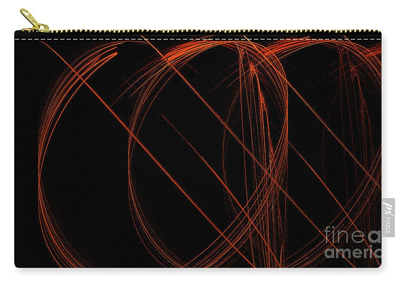 Digital Art Carry-all Pouch featuring the digital art Fractal 31 Meh by Alys Caviness-Gober