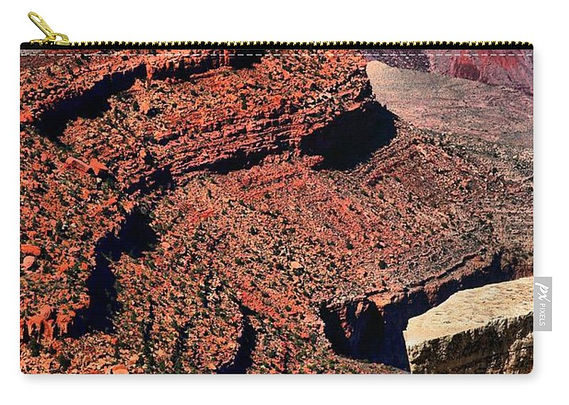 Grand Canyon Carry-all Pouch featuring the photograph Fraggle Rocks by Robert McCubbin