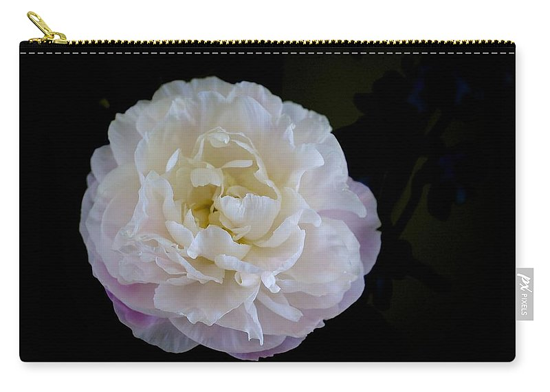 Floral Carry-all Pouch featuring the photograph Fragility by Jade Moon