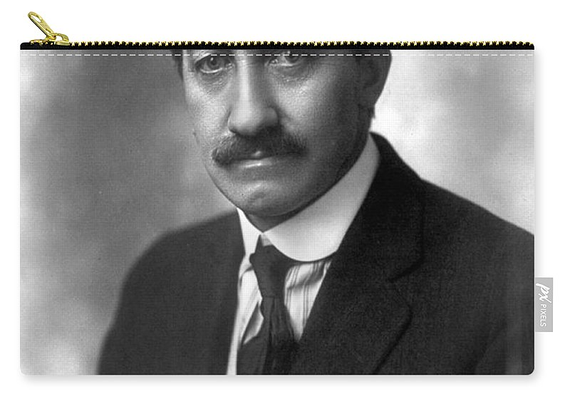 1913 Carry-all Pouch featuring the photograph Frederick Albert Cook by Granger
