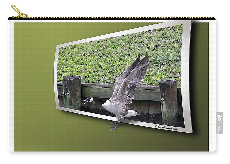 2d Carry-all Pouch featuring the photograph Free At Last by Brian Wallace