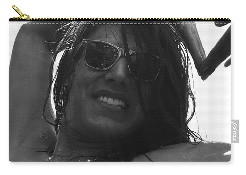 Free Spirit Carry-all Pouch featuring the photograph Free Spirit by The Artist Project