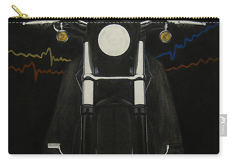 Freedom Carry-all Pouch featuring the painting Freedom by Lynet McDonald