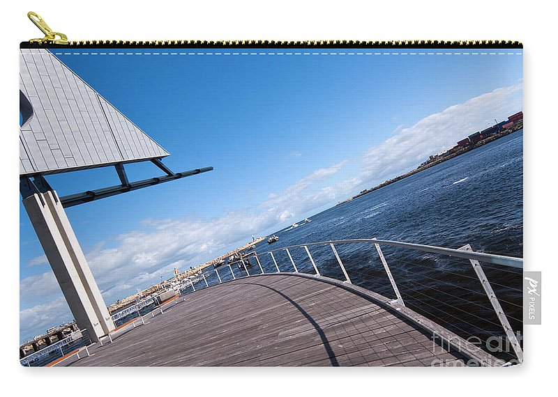 Fremantle Carry-all Pouch featuring the photograph Fremantle Maritime Museum 10 by Rick Piper Photography