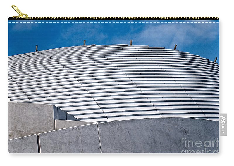 Fremantle Carry-all Pouch featuring the photograph Fremantle Maritime Museum Roof 02 by Rick Piper Photography