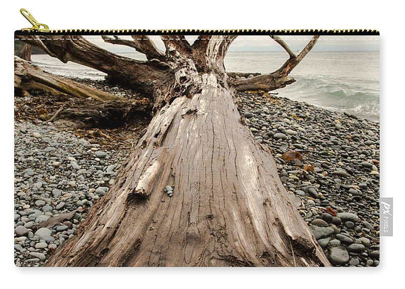 French Beach Carry-all Pouch featuring the photograph French Beach by John Daly