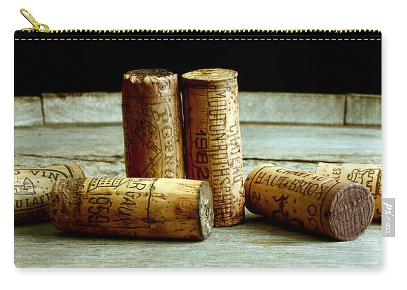 French Connection Carry-all Pouch featuring the photograph French Connection by Jon Neidert