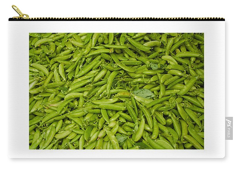 Tomato Carry-all Pouch featuring the photograph Fresh Vegetable Triptych by Thomas Marchessault