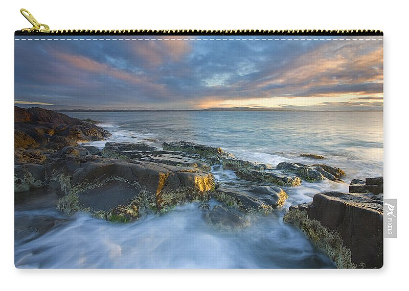 Freycinet Carry-all Pouch featuring the photograph Freycinet Cloud Explosion by Mike Dawson