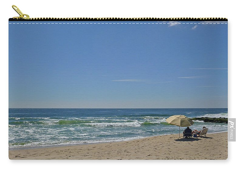 Ocean Carry-all Pouch featuring the photograph Friday Morning by Ellen Paull