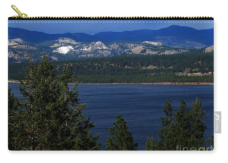 Patzer Carry-all Pouch featuring the photograph Front Porch by Greg Patzer