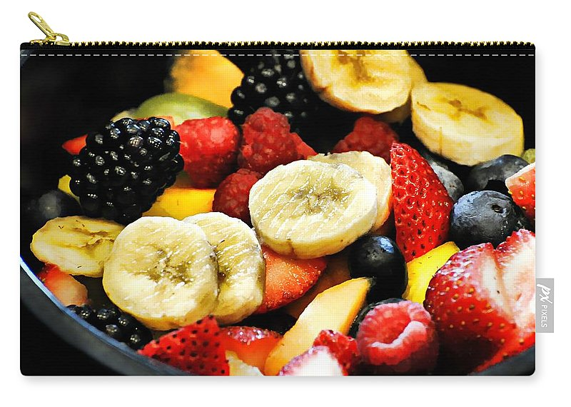 Food Carry-all Pouch featuring the photograph Fruit Salad by Diana Angstadt