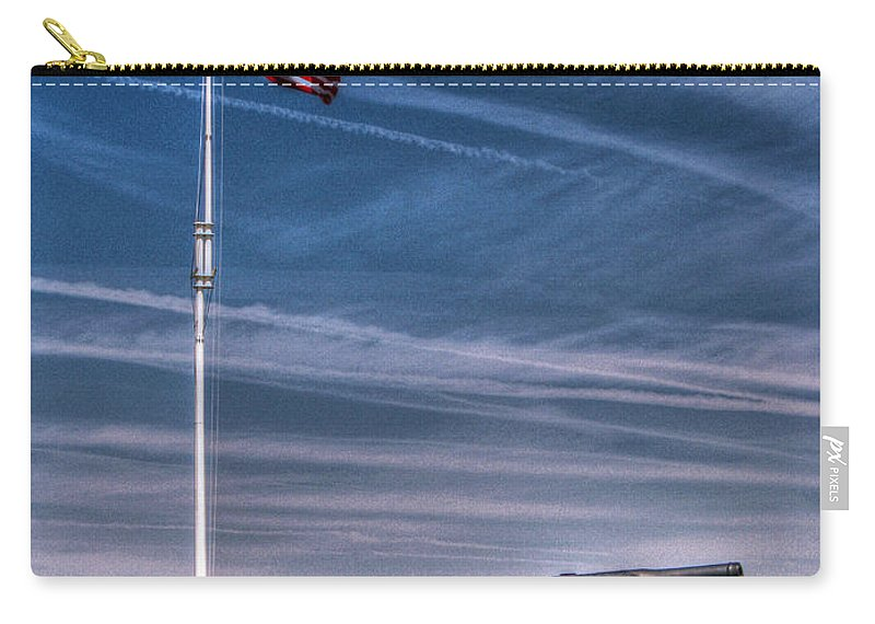 North Carolina Carry-all Pouch featuring the photograph Ft Macon by Tommy Anderson