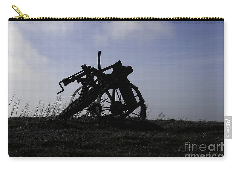 Plough Carry-all Pouch featuring the photograph Furrow Plough by James Lavott