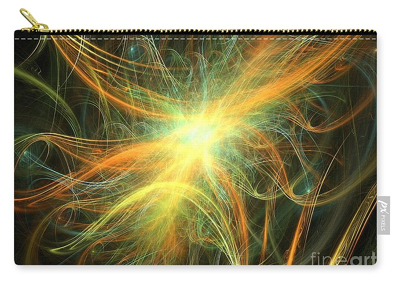 Apophysis Carry-all Pouch featuring the digital art Gale by Kim Sy Ok
