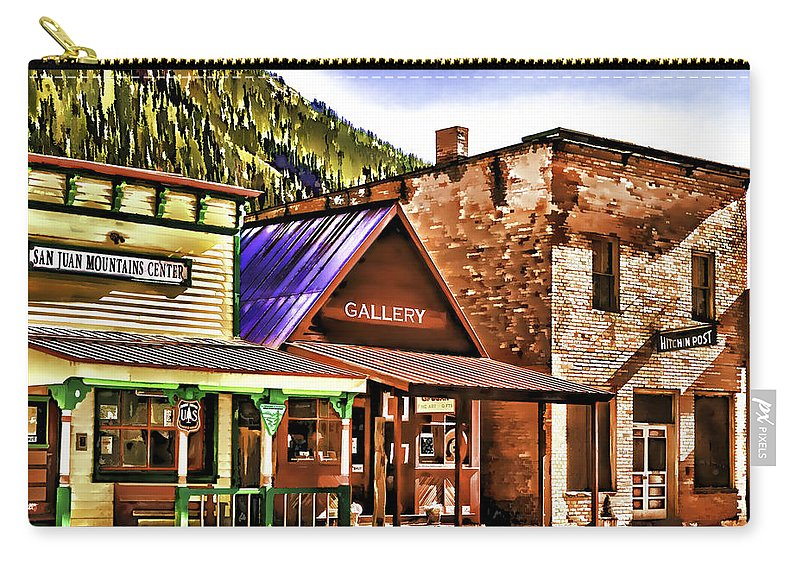 Gallery Carry-all Pouch featuring the painting Gallery by Muhie Kanawati