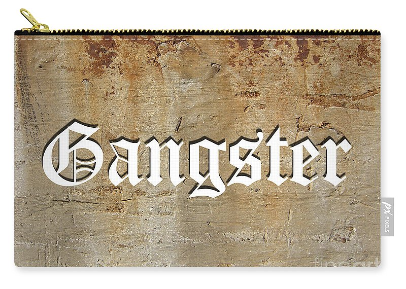 Gangster Carry-all Pouch featuring the digital art Gangster by Marvin Blaine